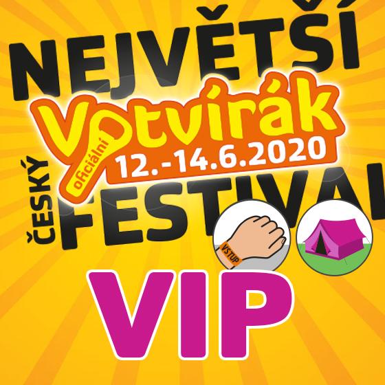 Festival Votvírák 2020<br><b><font color=red>Klubová karta VIP</font></b>