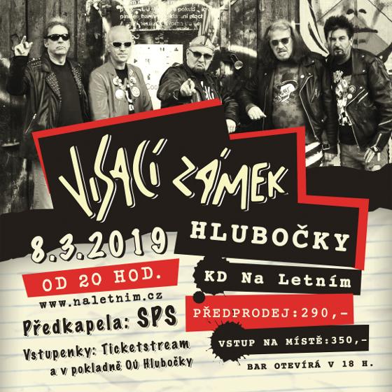 Visací Zámek<br>Forever punk tour 2019<br>Speciální host: SPS