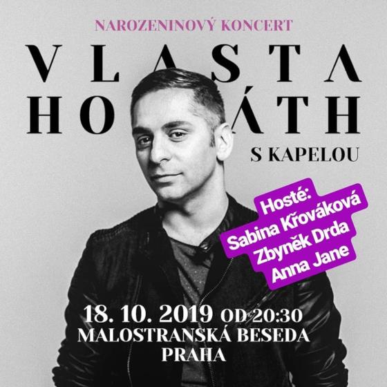 VLASTA HORVÁTH- koncert v Praze -Malostranská Beseda Praha