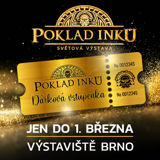 The Inca Gold exhibition<br>Gift ticket.