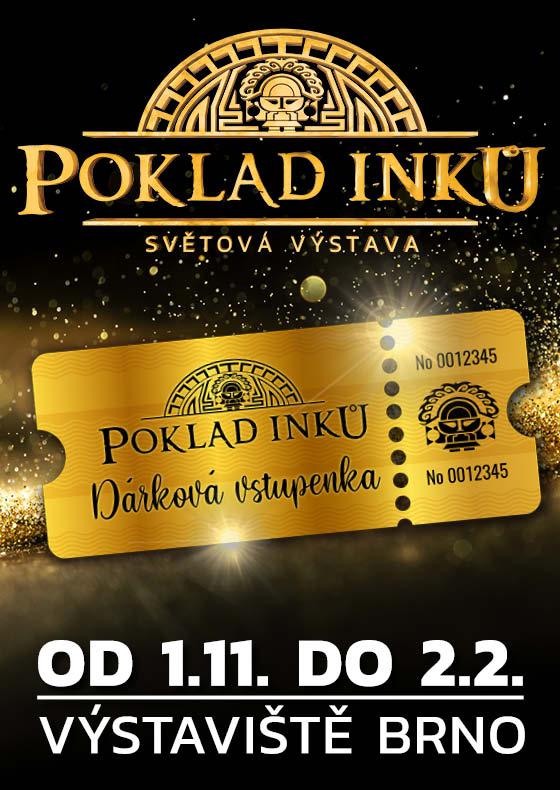 Poklad Inků<br>Dárková vstupenka