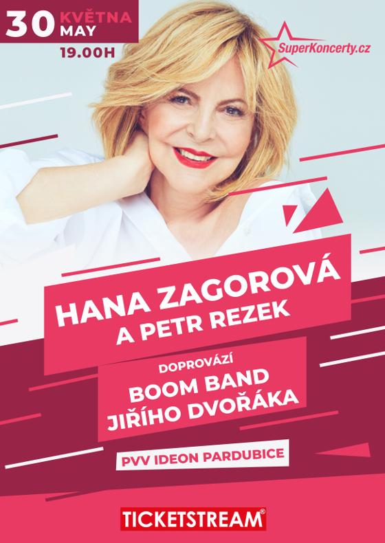 Koncert Hany Zagorové