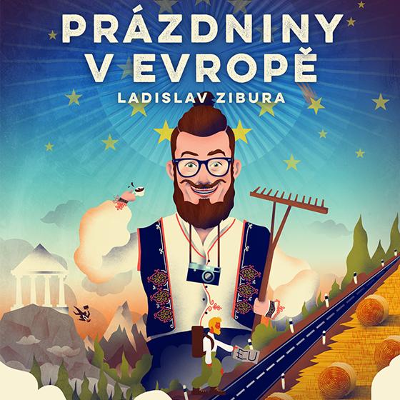 Ladislav Zibura<br>Prázdniny v Evropě<br>cestovatelská projekce / stand-up